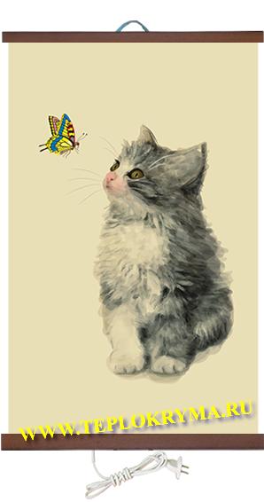 Гибкий настенный обогреватель Котёнок 400 Ватт