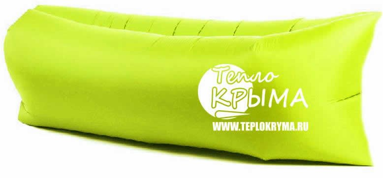Надувной диван-гамак Тепло Крыма, салатовый 142